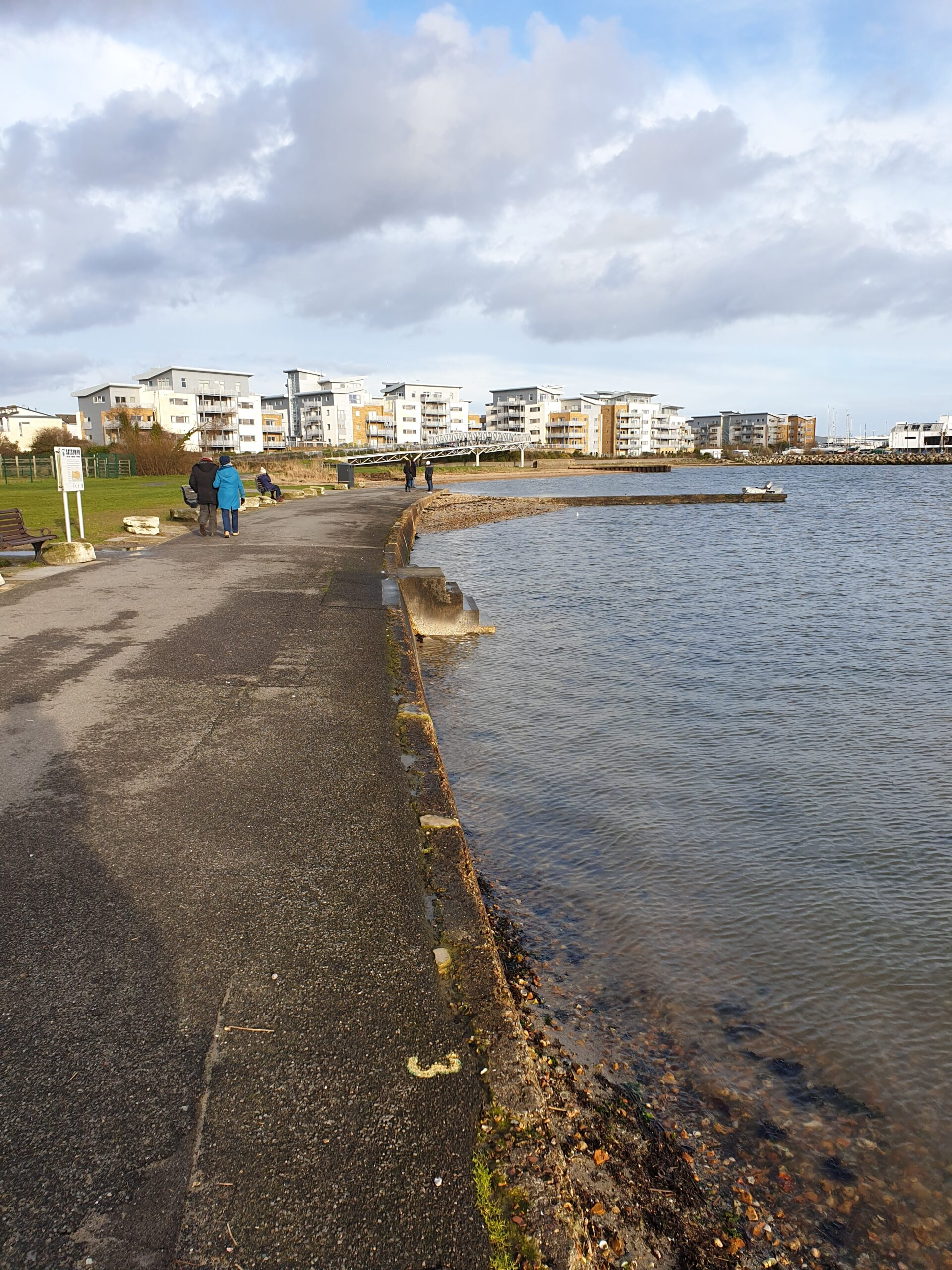 Hamworthy park promenade refurbishment
